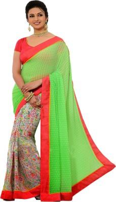 Manjaree Printed Fashion Georgette Sari