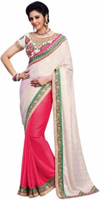 Mukta Mishree Exports Embriodered Fashion Chiffon, Jacquard, Georgette Sari
