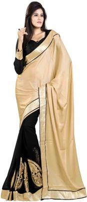 Silvermoon Self Design Bollywood Chiffon Sari