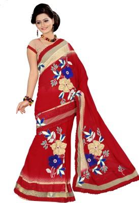 Sitaram Self Design Fashion Chiffon Sari