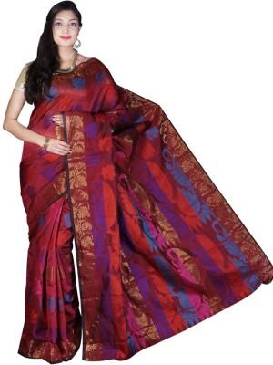 Glamorous Lady Printed Banarasi Banarasi Silk Sari