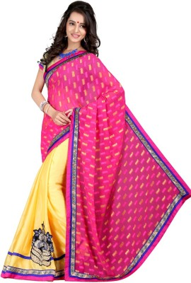 Aryansh Designers Printed Bollywood Georgette Sari