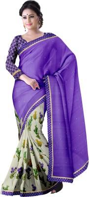 Komal Sarees Printed, Self Design Bollywood Georgette, Chiffon Sari