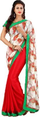 Party Wear Dresses Printed Fashion Georgette Sari