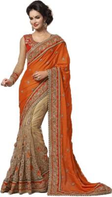 Rajhans Fashion Embriodered Fashion Jacquard Sari