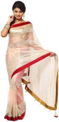 Shivam Embridery Embriodered Bhagalpuri Net Sari