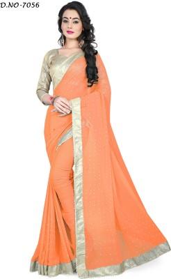 RoZiy Self Design Bollywood Georgette Sari
