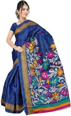 Shagun Prints Printed Bhagalpuri Silk Sari