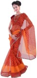 Great Art Printed Fashion Net Sari