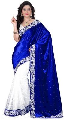 Wedding Villa Embriodered Bollywood Velvet Sari