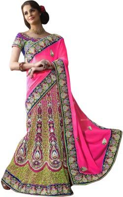 Sayonafashion Embriodered Fashion Net Sari