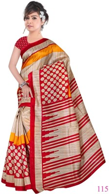 HIRA CREATION Floral Print Fashion Georgette Sari