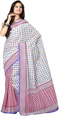 Shoppingover Printed Fashion Cotton Sari