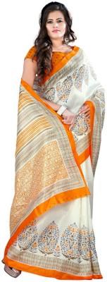 FabTexo Printed Bhagalpuri Silk Sari