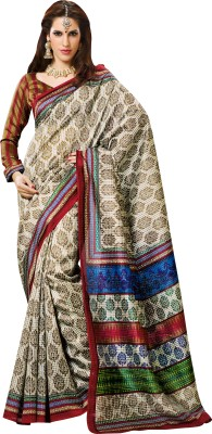 Prafful Printed Daily Wear Silk Sari