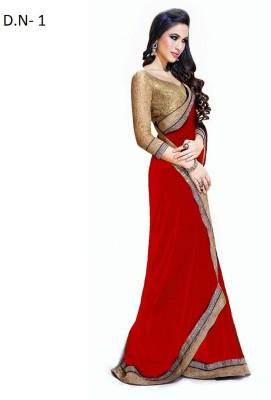 Mamta Synthetic Self Design Bollywood Handloom Lace Sari