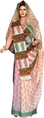 Sprint Textiler & Manufacturer Paisley Rajshahi Handloom Cotton Sari