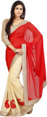 Dhananjay Embriodered Fashion Chiffon Sari
