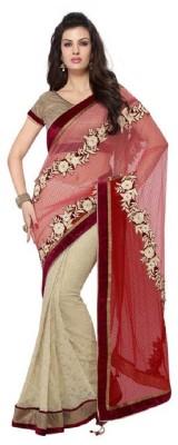 Vidya Fashion Self Design Fashion Net Sari