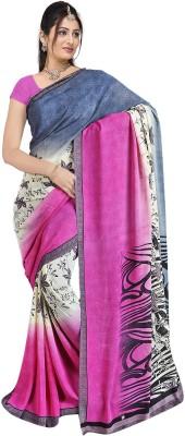 Balaji Fashions Printed Fashion Chiffon Sari