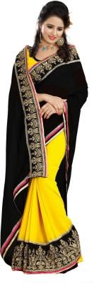 Av Trendz Embriodered Fashion Georgette Sari