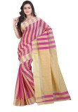 Mimosa Striped Banarasi Handloom Cotton ...