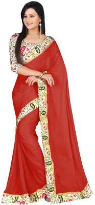 Prachi Silk Mills Printed Fashion Art Silk Sari
