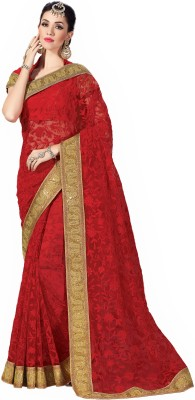 Sudarshan Family Store Embriodered Fashion Synthetic Sari