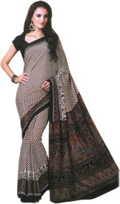 TIESHY Printed Fashion Crepe Sari