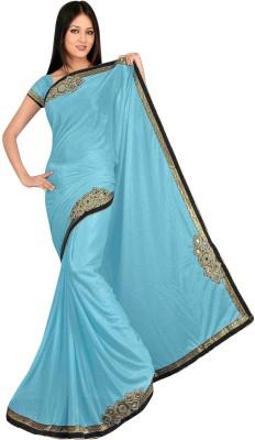 stylish sarees Embriodered Bollywood Lycra Sari