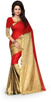 fashion flowers Printed Fashion Art Silk Sari