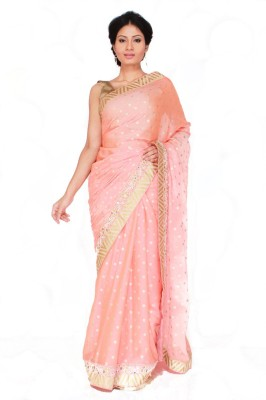 Boutique Rupkatha Embriodered Fashion Synthetic Chiffon Sari
