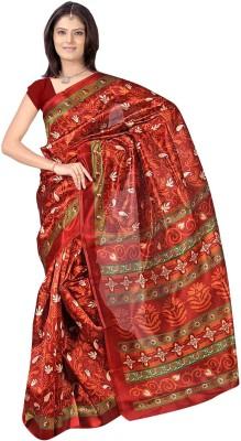 DFTZ Printed Fashion Georgette Sari