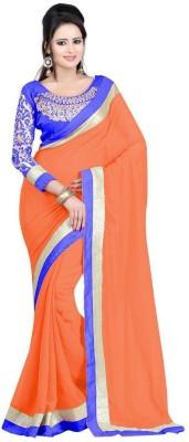 Panchi Embriodered Bollywood Chiffon Sari