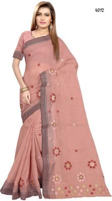 Mrsaree Embriodered Fashion Cotton Sari