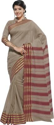 Aaditri Fashions Printed Narayanpet Silk Cotton Blend Sari