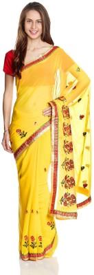 Aryahi Embriodered Fashion Chiffon Sari
