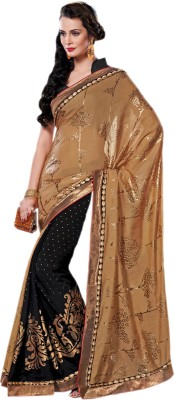 Hypnotex Printed Fashion Chanderi, Silk, Georgette Sari
