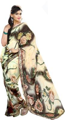 Lovely Look Printed Daily Wear Georgette Sari