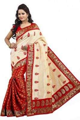 MAMTA ABHISHEK Embriodered Fashion Lace Sari