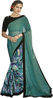 Heart & Soul Embriodered Bollywood Chiffon Sari