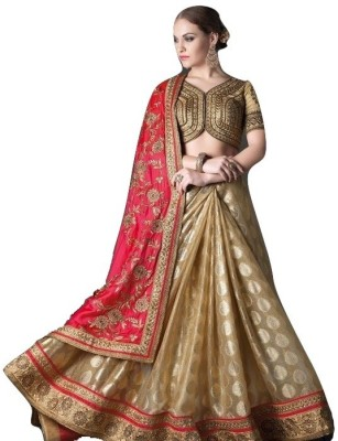 Mert India Embriodered Fashion Georgette Sari