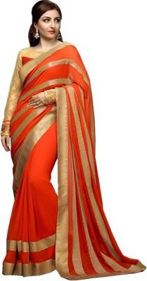 SareeBazaar Embriodered Bollywood Georgette Sari