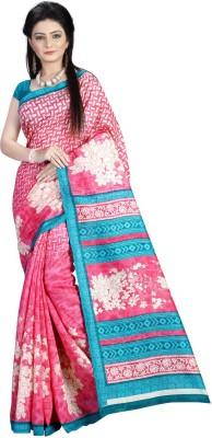 Fabdeal Printed Daily Wear Silk Sari