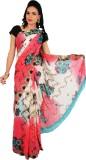 Rama Floral Print Fashion Georgette Sare...