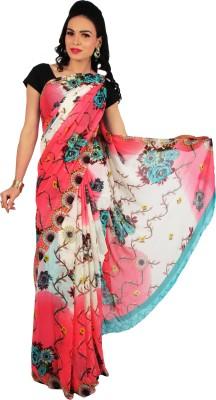 Rama Floral Print Fashion Georgette Sari