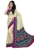 DESIGN WILLA Printed Fashion Crepe Saree...