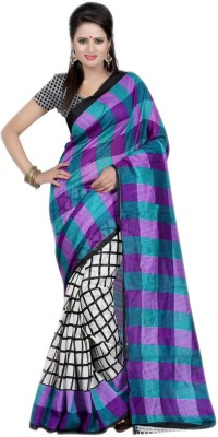 ESK Fashions Self Design Bollywood Handloom Art Silk Sari