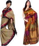 Sunaina Printed Daily Wear Art Silk Sare...