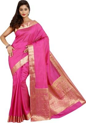Parchayee Solid Fashion Tussar Silk Sari